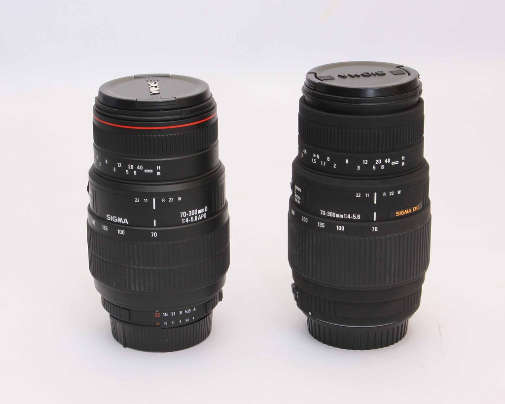 Sigma 70-300mm f/4-5.6 DG Lens for Canon / Nikon