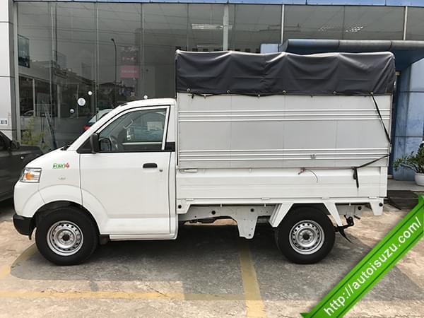 Xe tải Suzuki 750kg thùng mui bạt