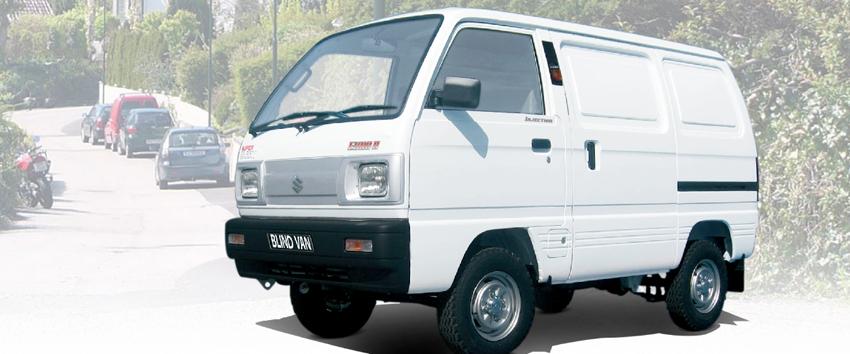 Xe Su cóc - Xe tải Van Suzuki