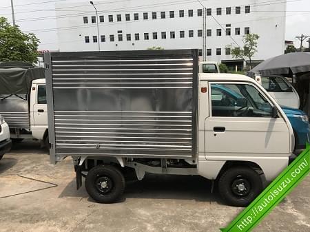 Xe suzuki 5 tạ thùng kín Inox