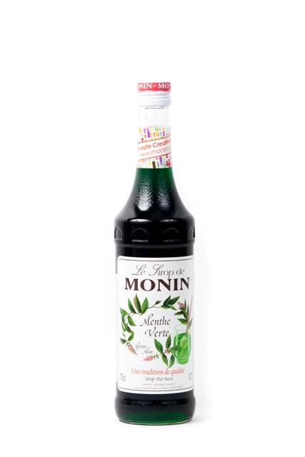 Syrup Monin Mint.