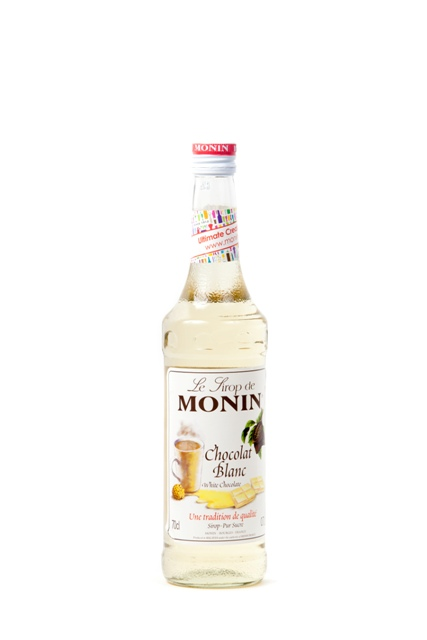 Syrup Monin White Chocolate.