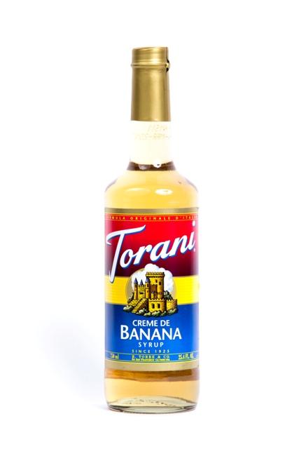 Syrup Torani Banana.