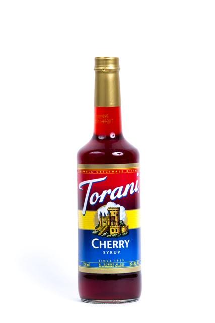 Syrup Torani Cherry.