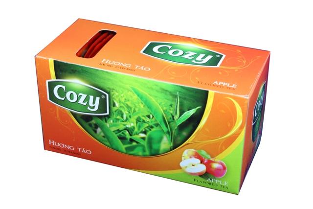 Trà túi lọc Cozy hương táo.