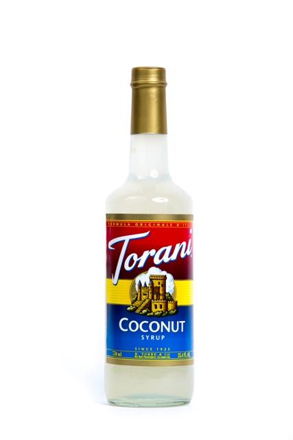 Syrup Torani Coconut.
