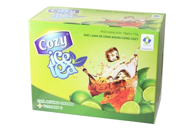 Trà Cozy Lemon Ice Tea.