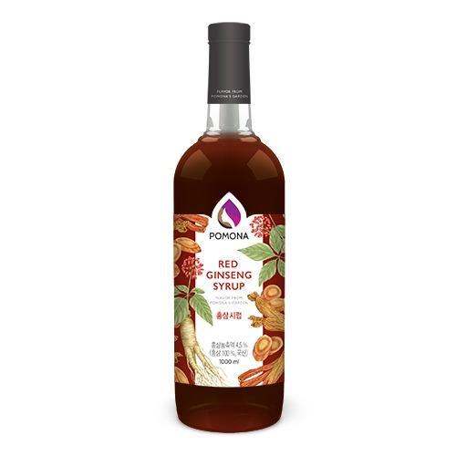 Pomona Red Ginseng Syrup 1000ml – Siro Hồng Sâm