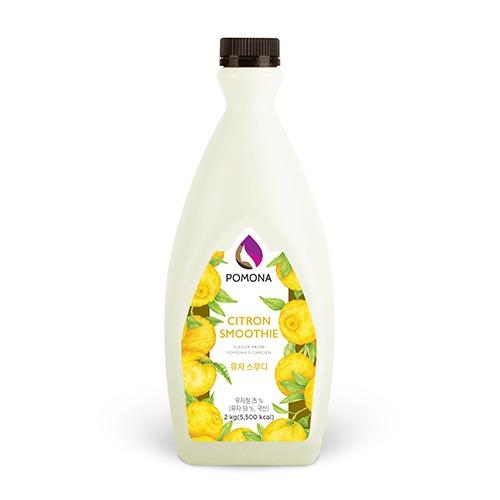 Pomona Citron Smoothie 2kg – Sinh Tố Yuzu