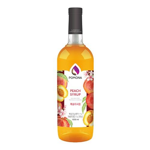 Pomona Peach Syrup 1000ml – Siro Đào