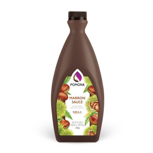 Pomona Marron Sauce 2kg- Hạt dẻ Nhật