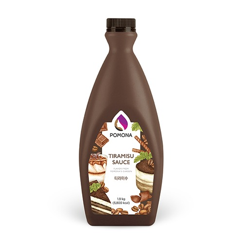 Pomona Tiramisu Sauce 1.9kg – Tiramisu (Hàng Order)
