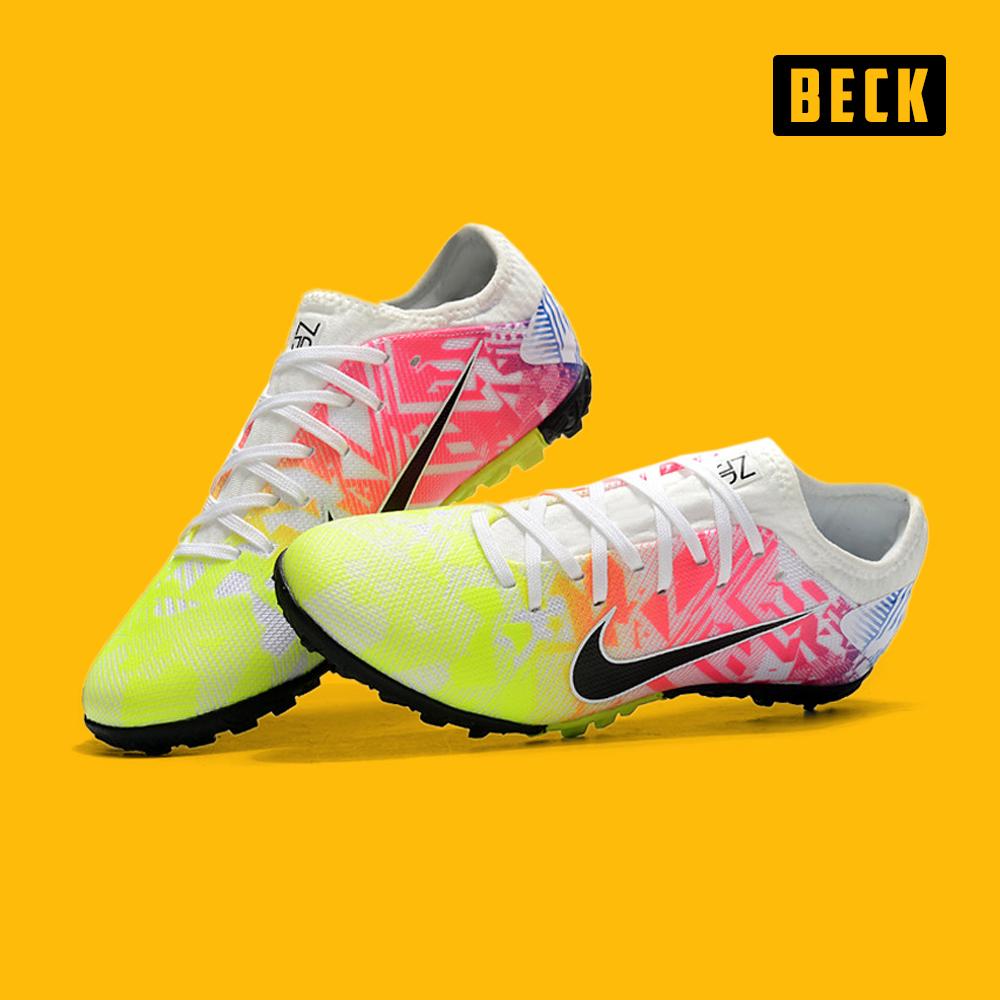 Giày Bóng Đá Nike Tiempo Legend 8 Trắng Vạch Xanh Lá HQ TF