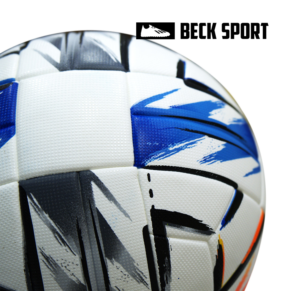Quả Bóng Đá Euro Adidas Uniforia Size 5 - Trắng Cam Xanh Biển
