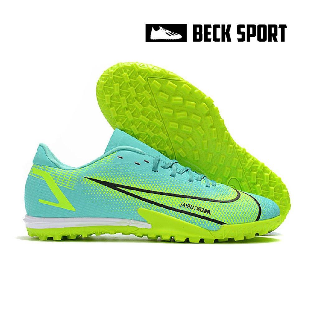Giày Bóng Đá Nike Mercurial Vapor 14 Academy EURO Xanh Ngọc V2 TF