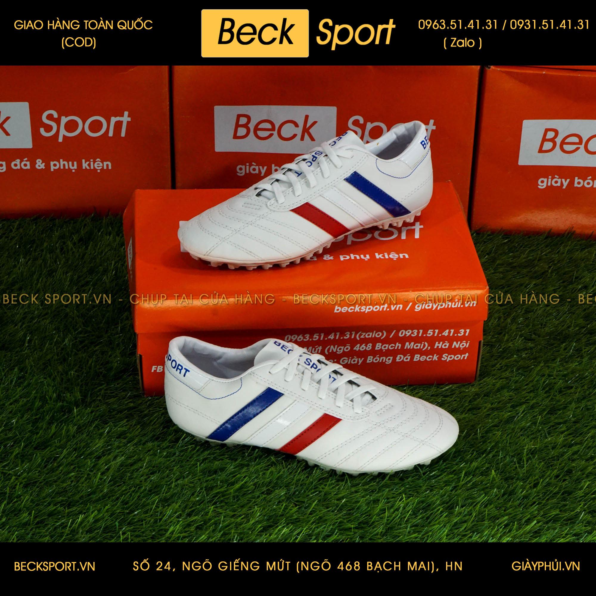 Giày Phủi 3 Sọc Loại 1 - Beck Quốc Kì Pháp