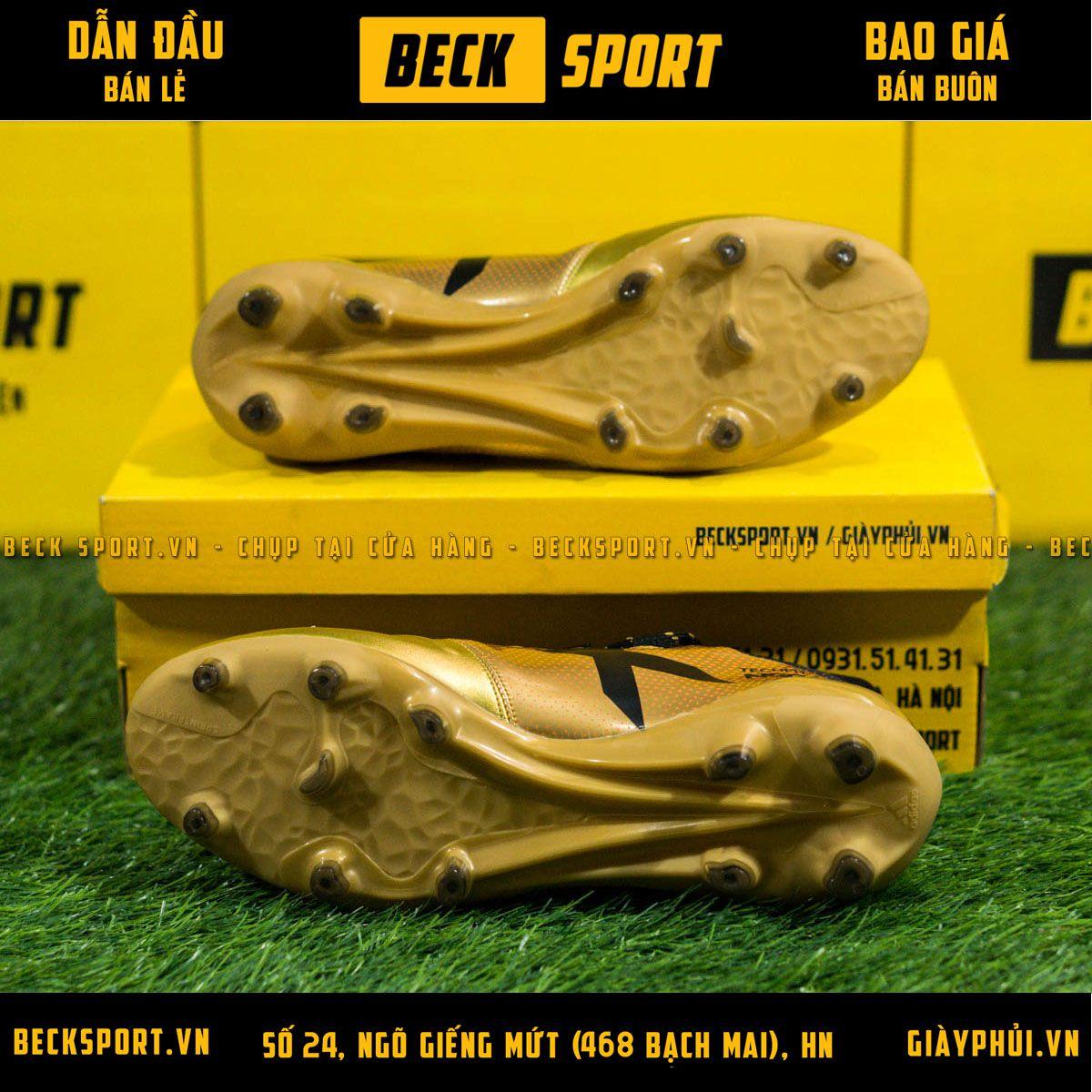 Giày Bóng Đá Trẻ Em Adidas X 17.3 Đồng Chấm Bi Đỏ FG
