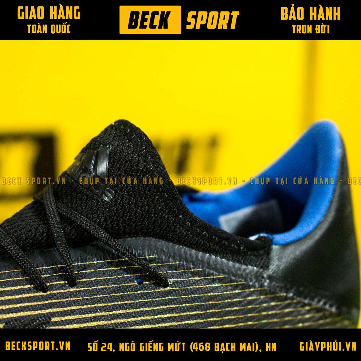 Giày Bóng Đá Adidas X 19.3 Đen Đồng FG