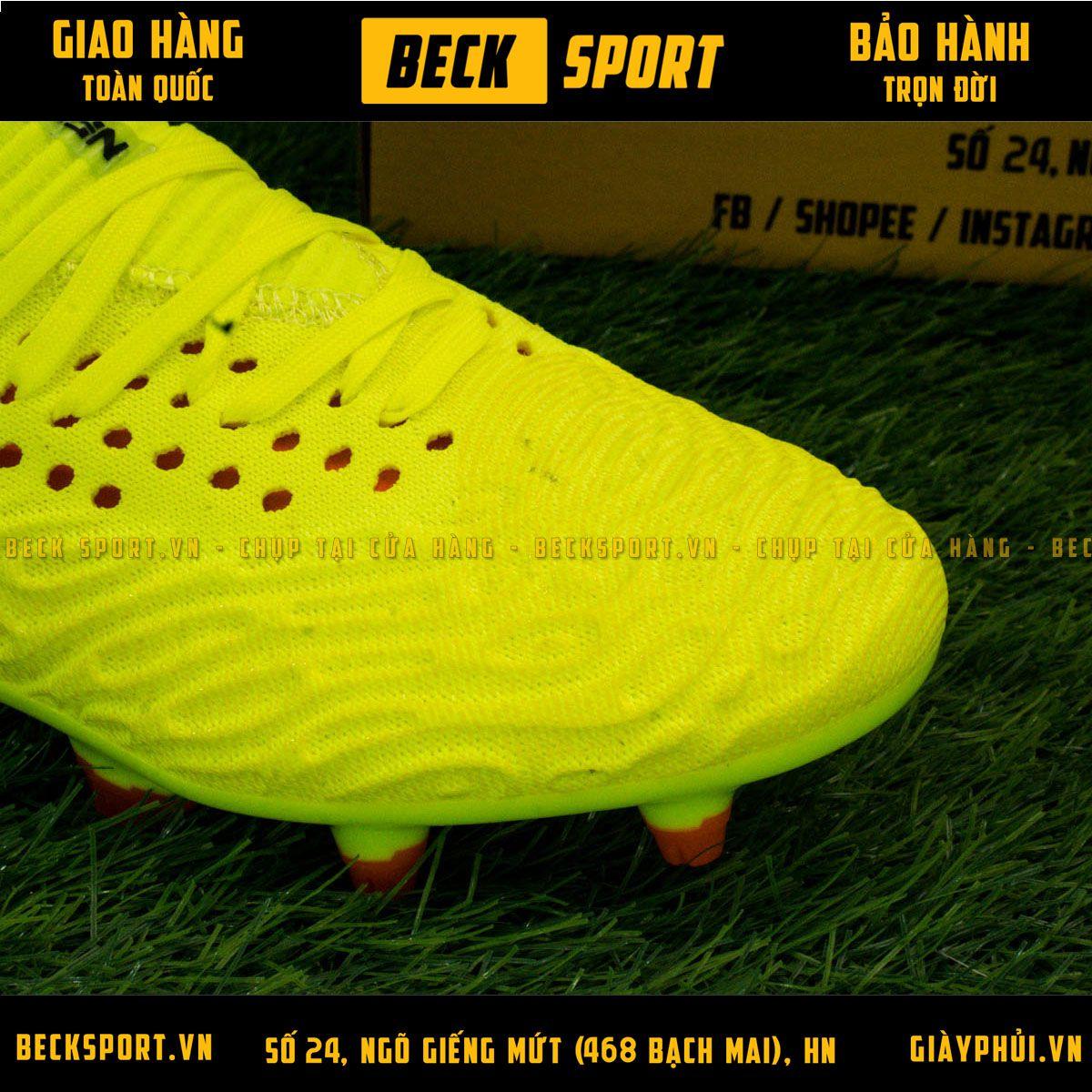 Giày Bóng Đá Puma Future 19.1 Vàng Cổ Lửng FG