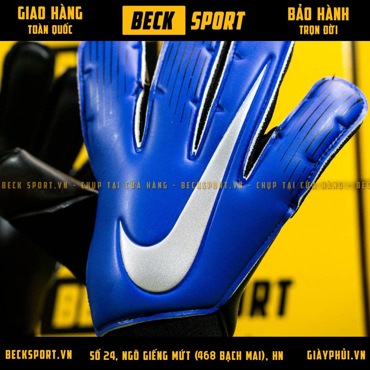 Găng Tay Nike Vapor Grip 3 Xanh Biển ( Không Xương)