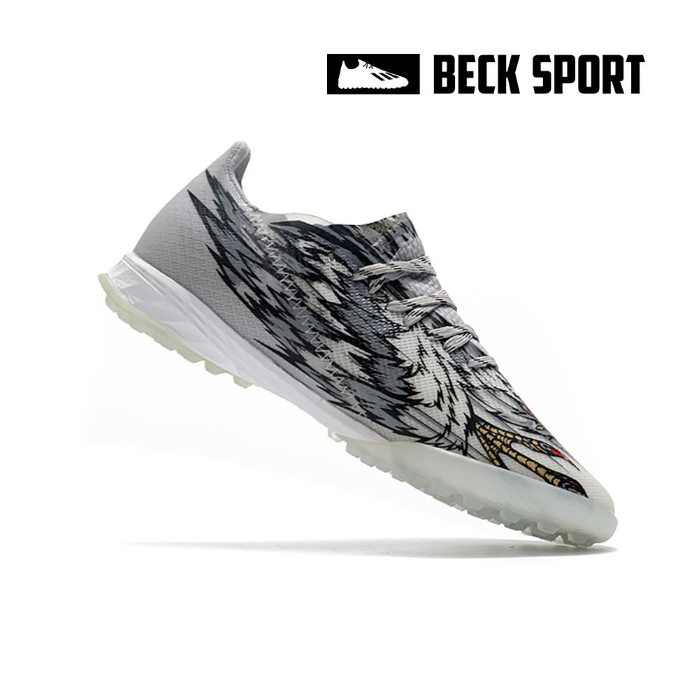 Giày Bóng Đá Adidas X Ghosted.1 Peregrine Falcon Xám Đen TF