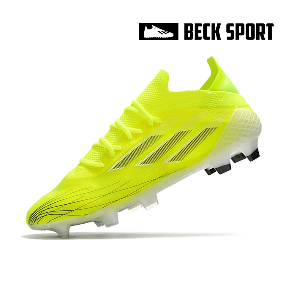 Giày Bóng Đá Adidas X Speedflow.1 Vàng Vạch Đen FG