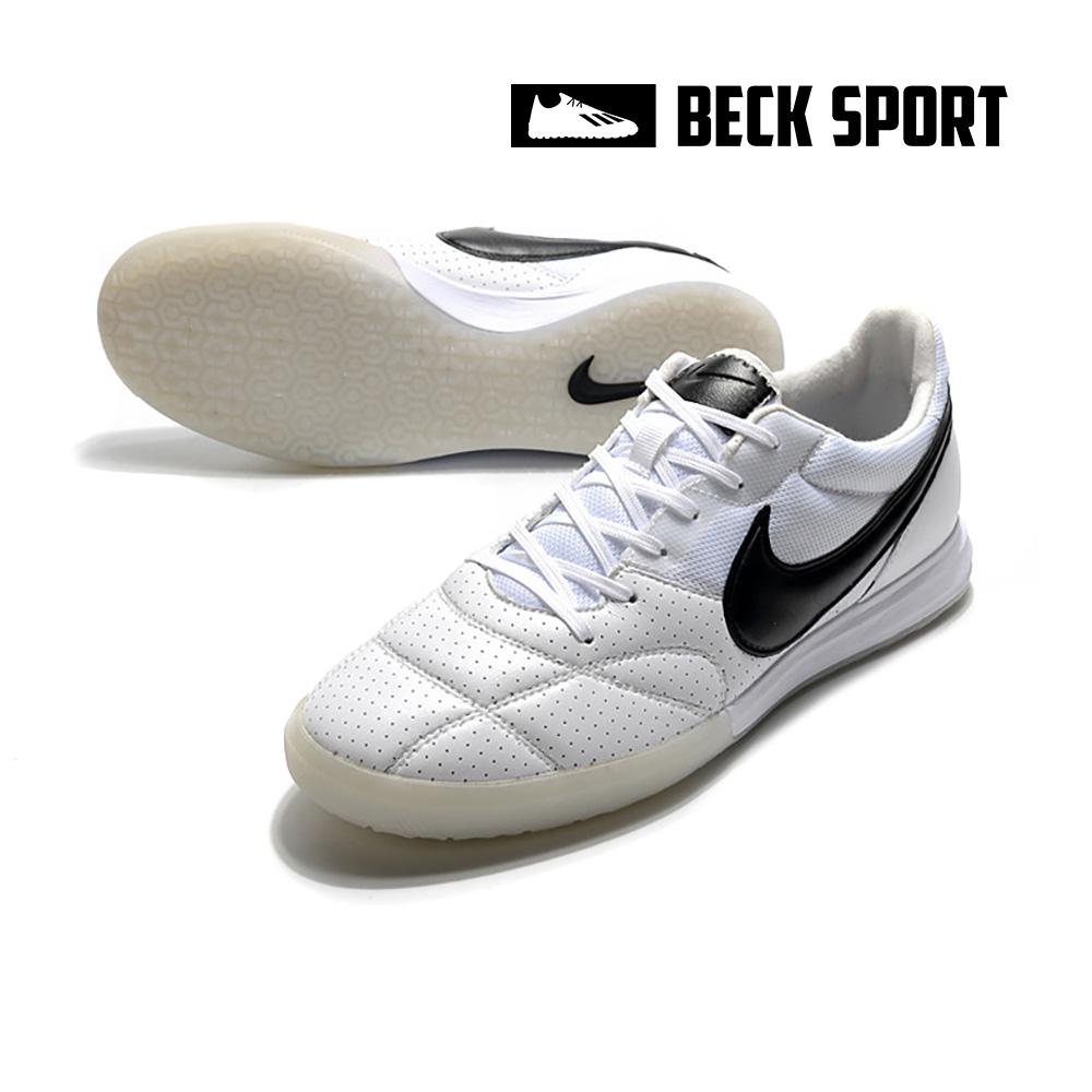 Giày Bóng Đá Nike Premier II Sala Trắng Vạch Đen IC