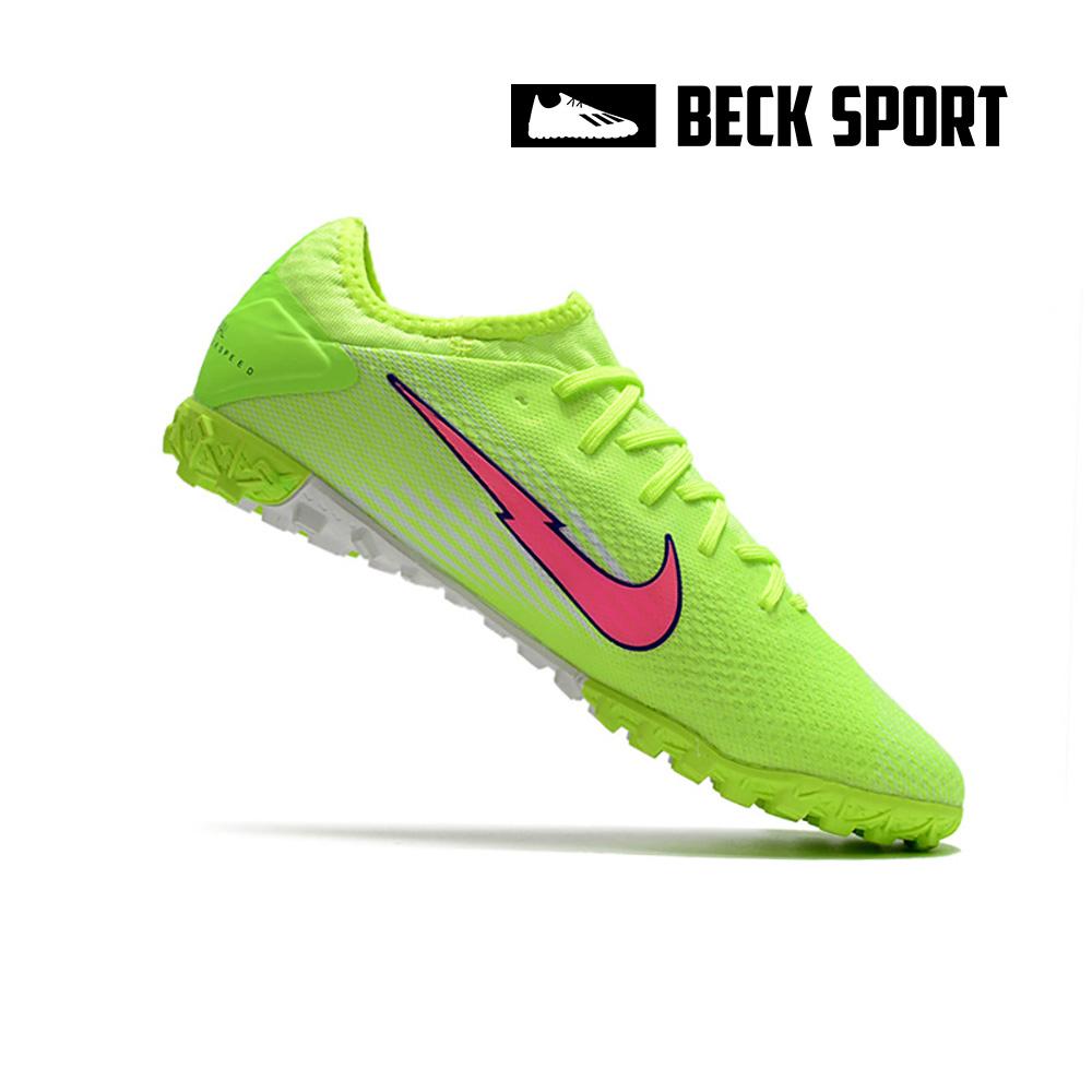 Giày Bóng Đá Nike Mercurial Vapor 13 Pro Nõn Chuối Trắng Vạch Hồng HQ TF