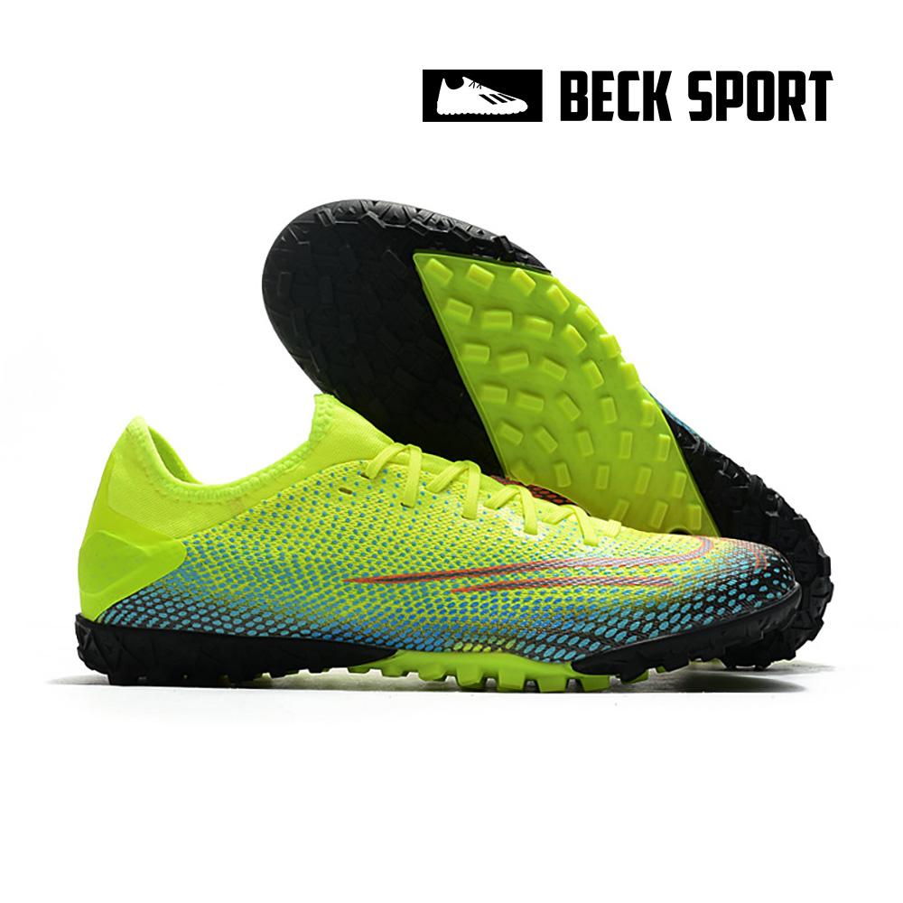 Giày Bóng Đá Nike Mercurial Dream Speed Vapor 13 Pro Nõn Chuối Xanh Ngọc Vạch Đen V2 TF