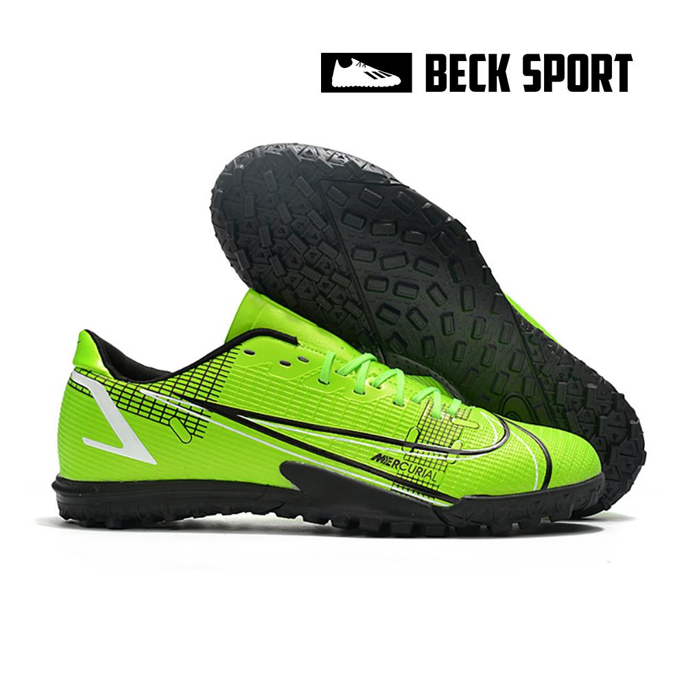 Giày Bóng Đá Nike Mercurial Vapor 14 Academy Xanh Lá Vạch Đen V2 TF