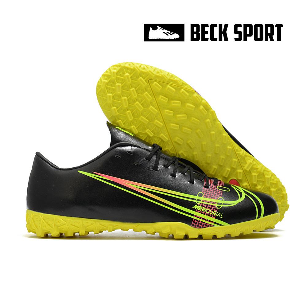 Giày Bóng Đá Nike Mercurial 14 Đen Đế Vàng TF