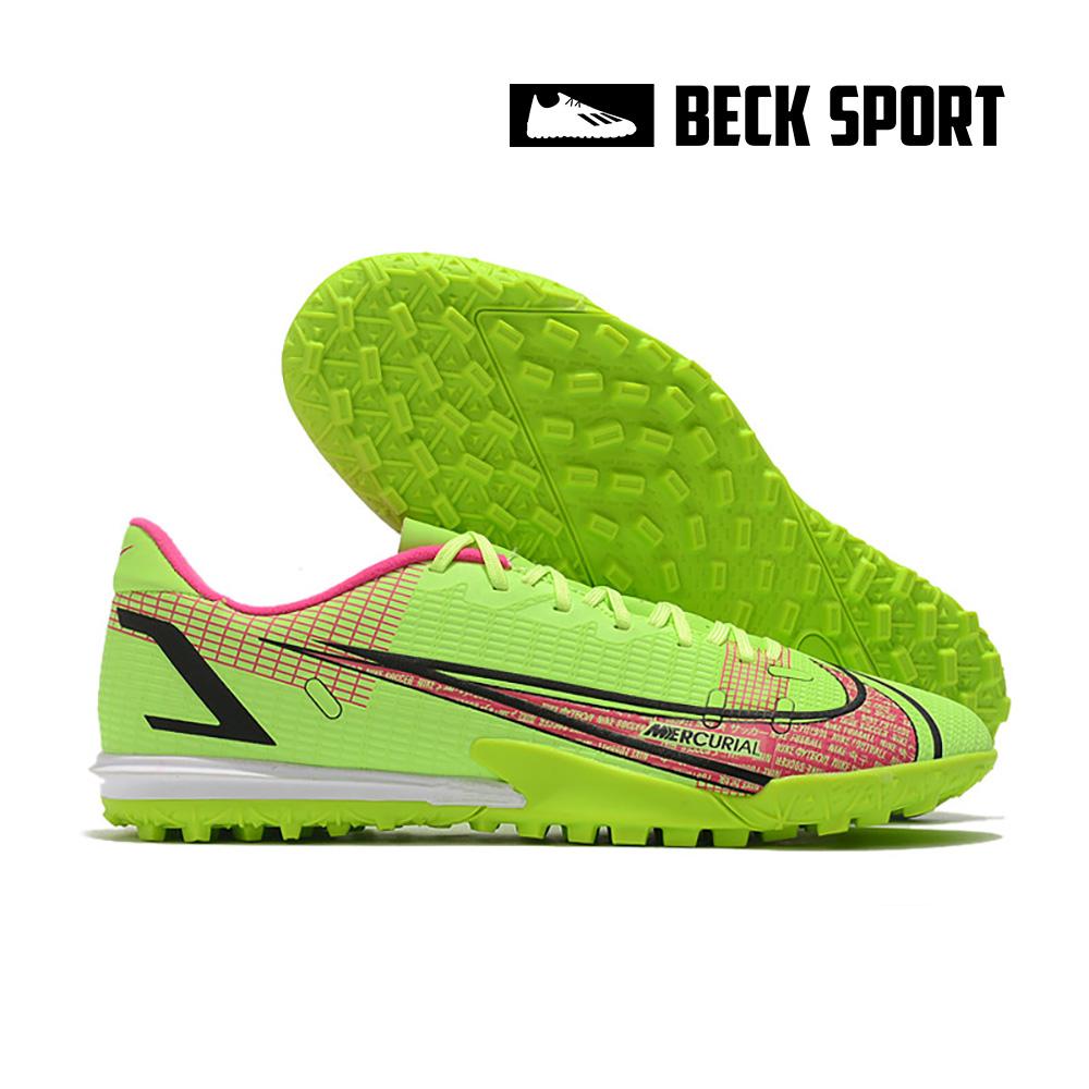 Giày Bóng Đá Nike Mercurial Vapor 14 Academy Nõn Chuối Vạch Hồng TF