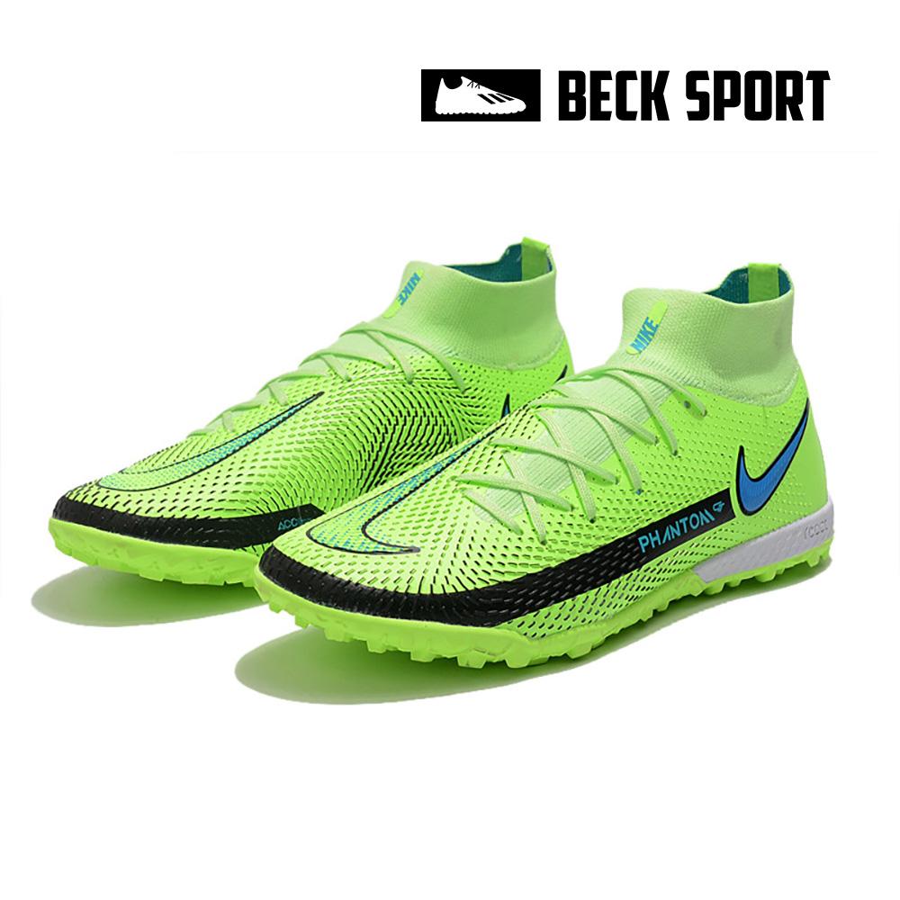 Giày Bóng Đá Nike Phantom GT Elite EURO Xanh Lá Cổ Cao TF