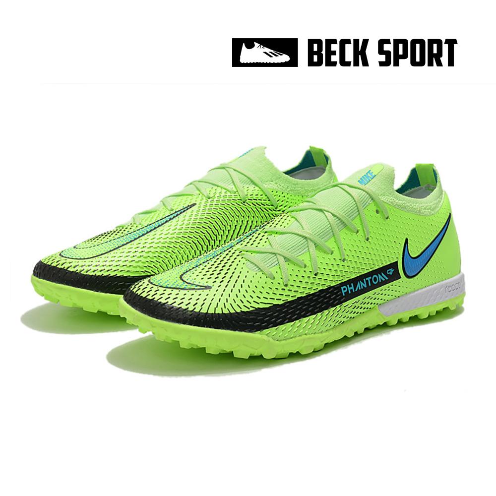 Giày Bóng Đá Nike Phantom GT Elite EURO Xanh Lá Cổ Lửng TF