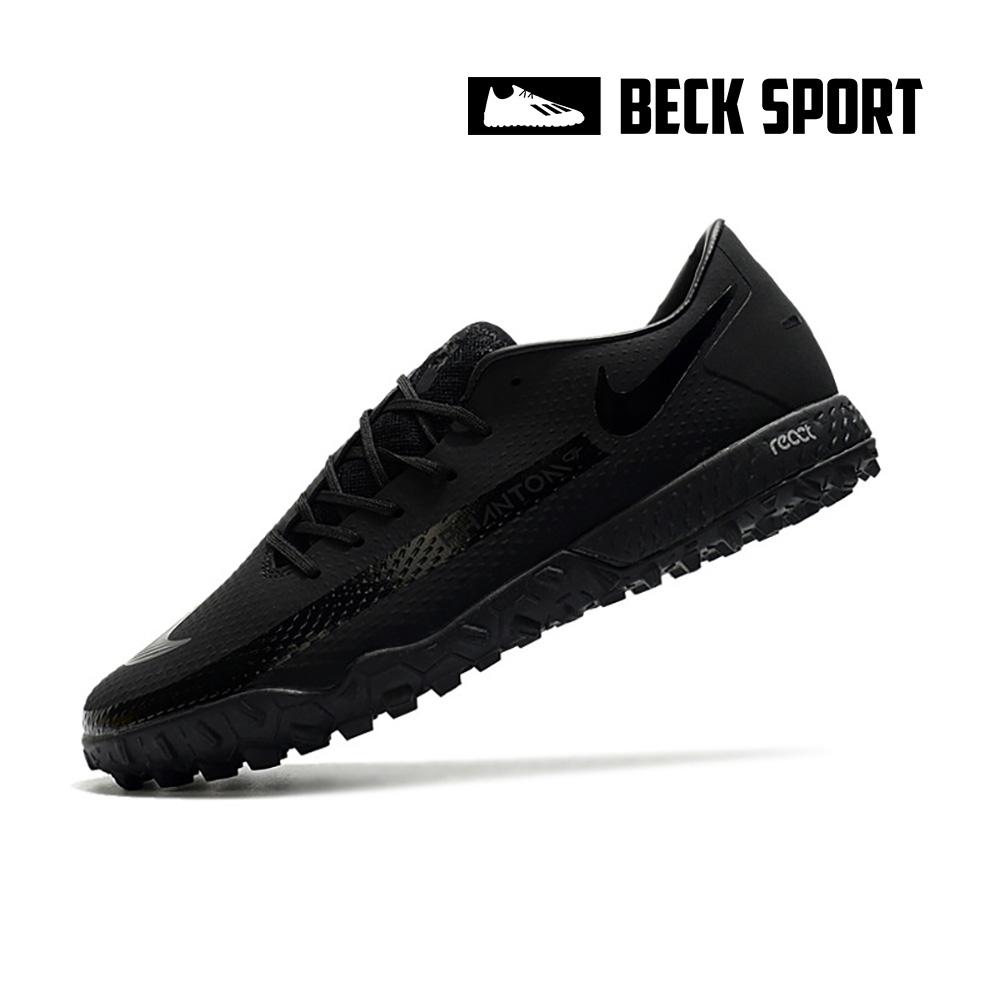 Giày Bóng Đá Nike React Phantom GT Pro Đen Tuyền TF