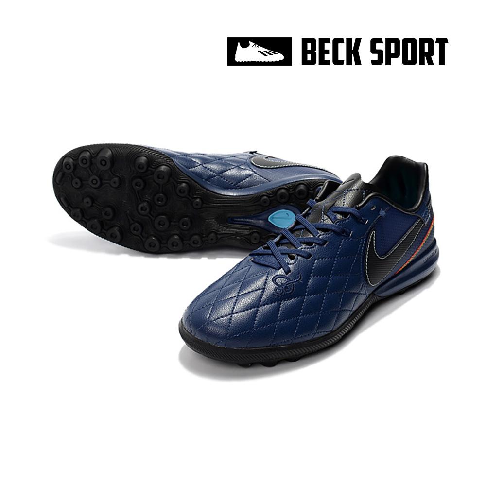 Giày Bóng Đá Nike Tiempo Lunar Legend 7 Pro Ronaldinho Xanh Than TF