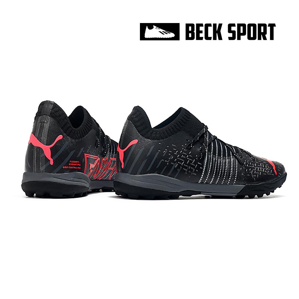 Giày Bóng Đá Puma Future Z 1.1 Đen Vạch Đỏ Cổ Lửng TF