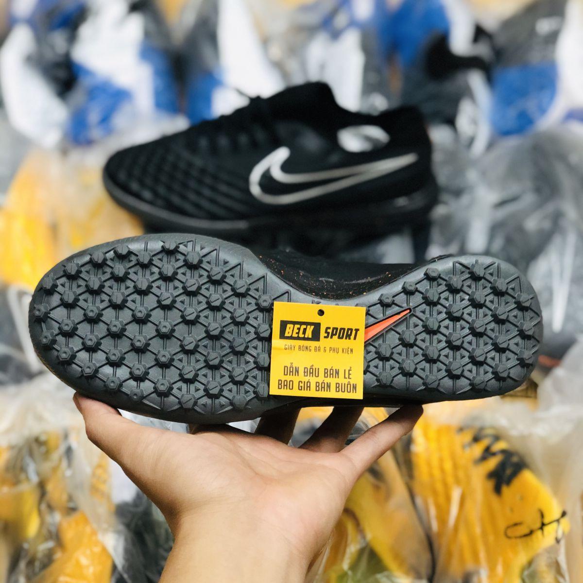 Giày Bóng Đá Nike MagistaX Finale Đen Tuyền Cổ Lửng TF