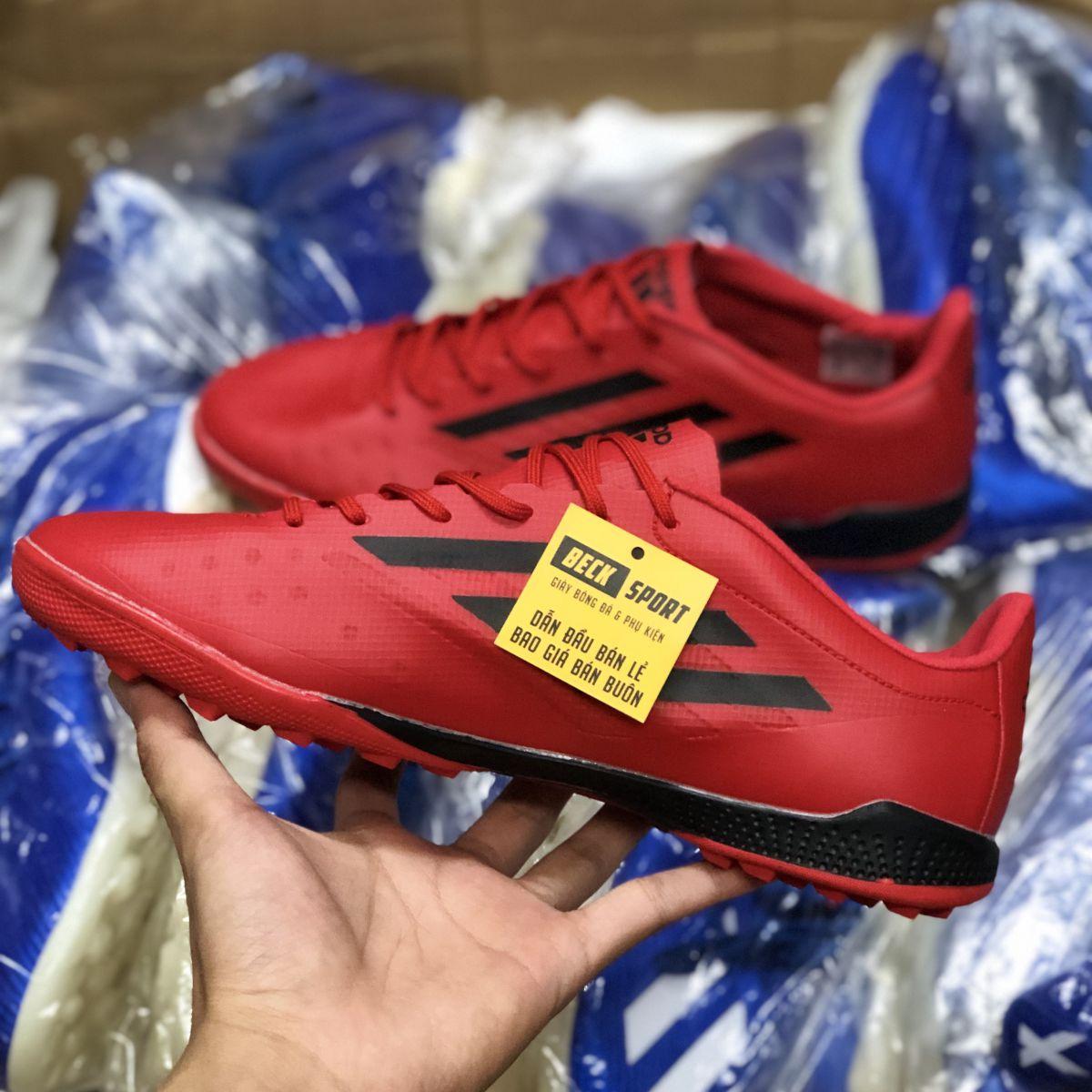 Giày Bóng Đá Adidas X 99.1 Đỏ Vạch Đen TF