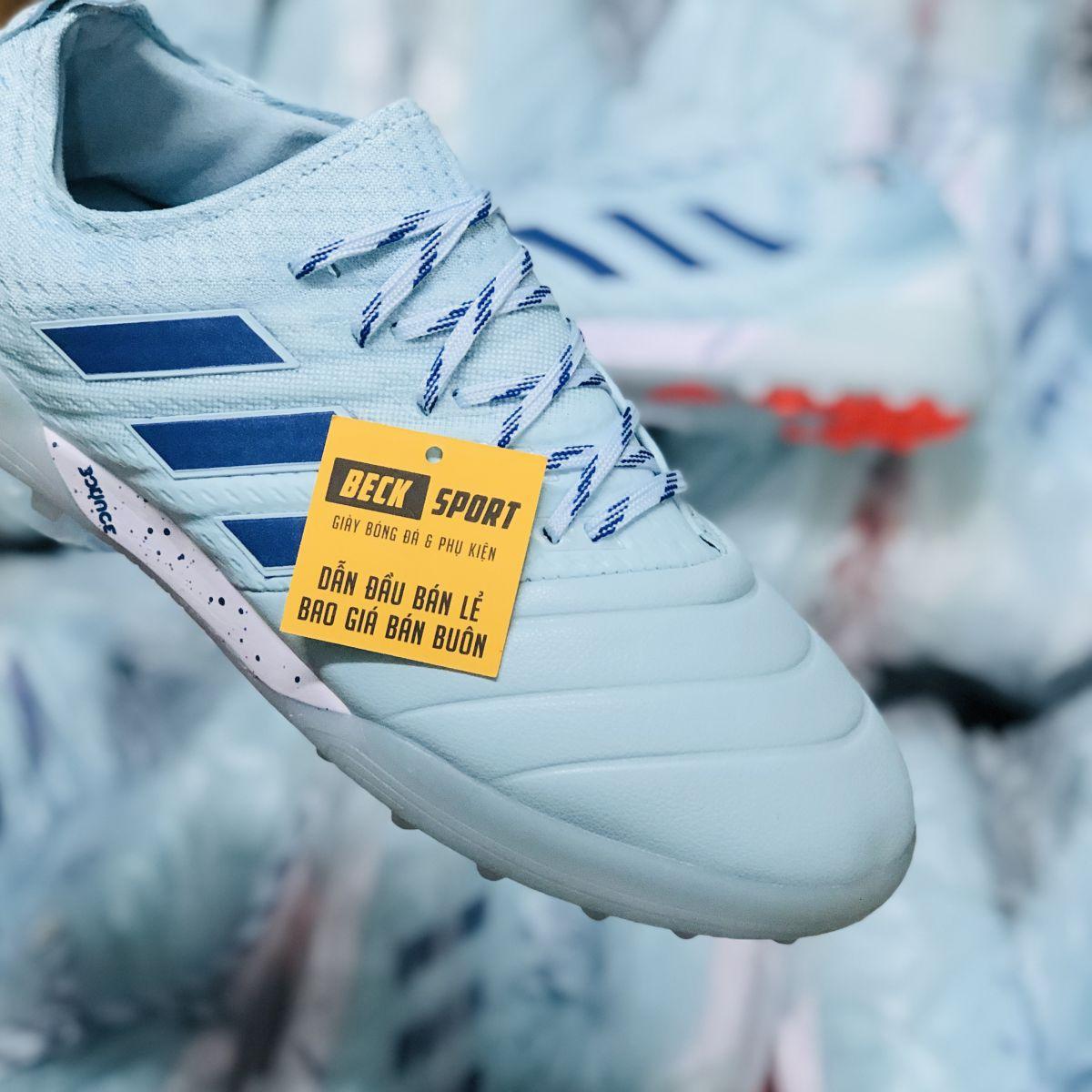 Giày Bóng Đá Adidas Copa 20.1 Xanh Ngọc TF