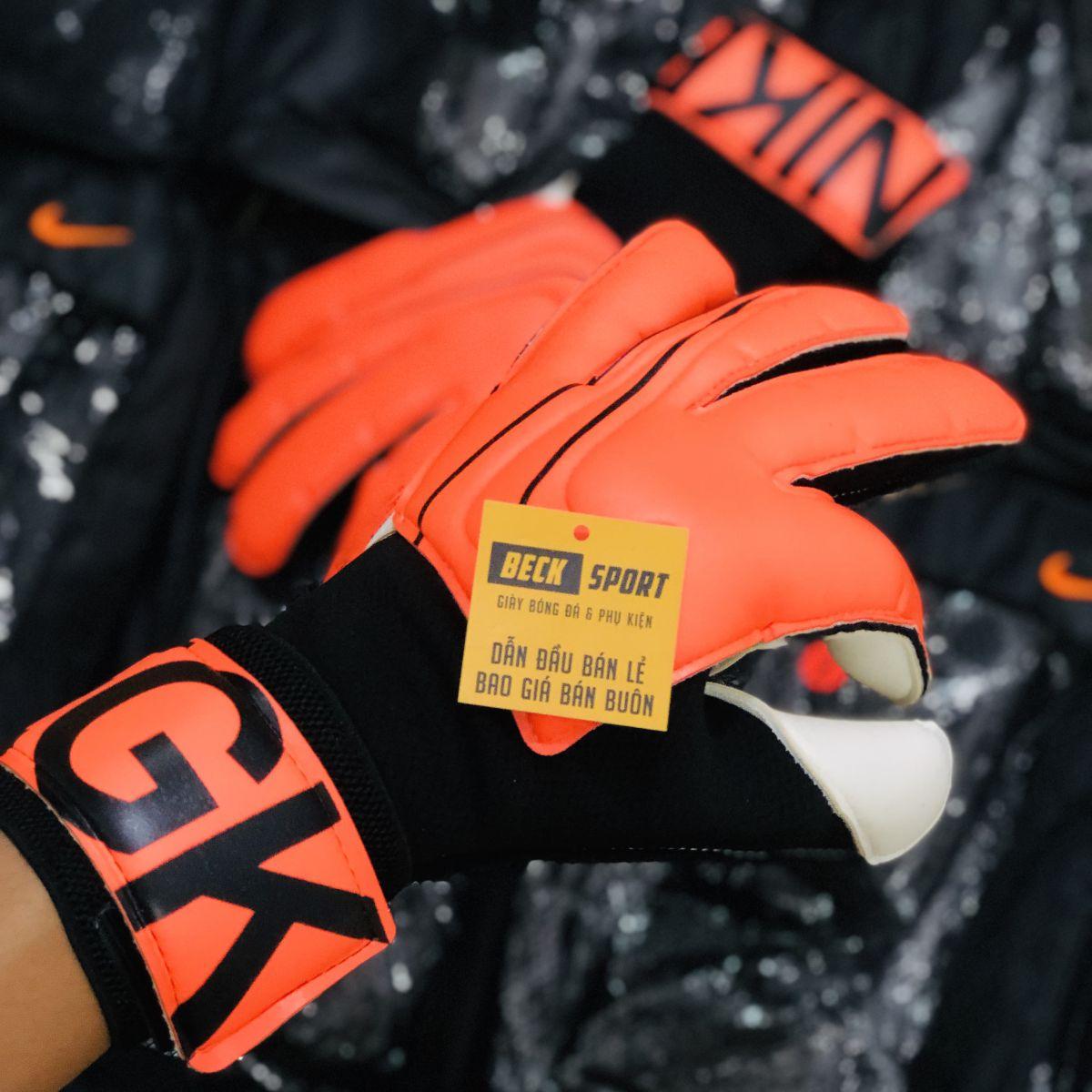 Găng Tay Nike Vapor Grip 3 Cam Vạch Đen ( Không Xương)
