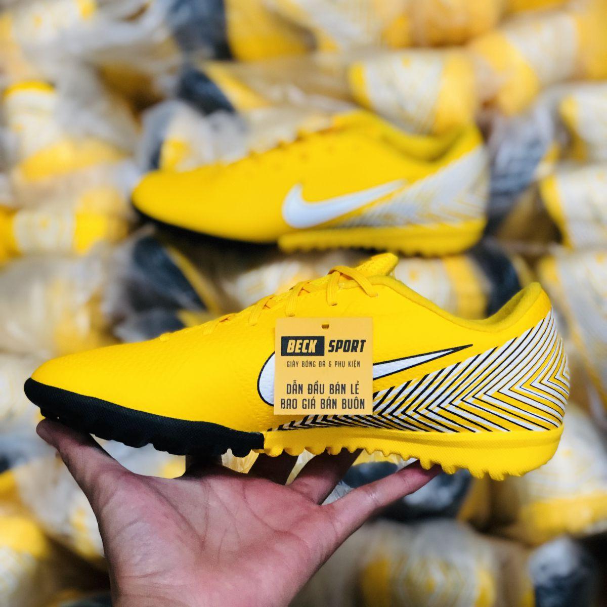 Giày Bóng Đá Nike Mercurial Academy Neymar Vàng Đen TF
