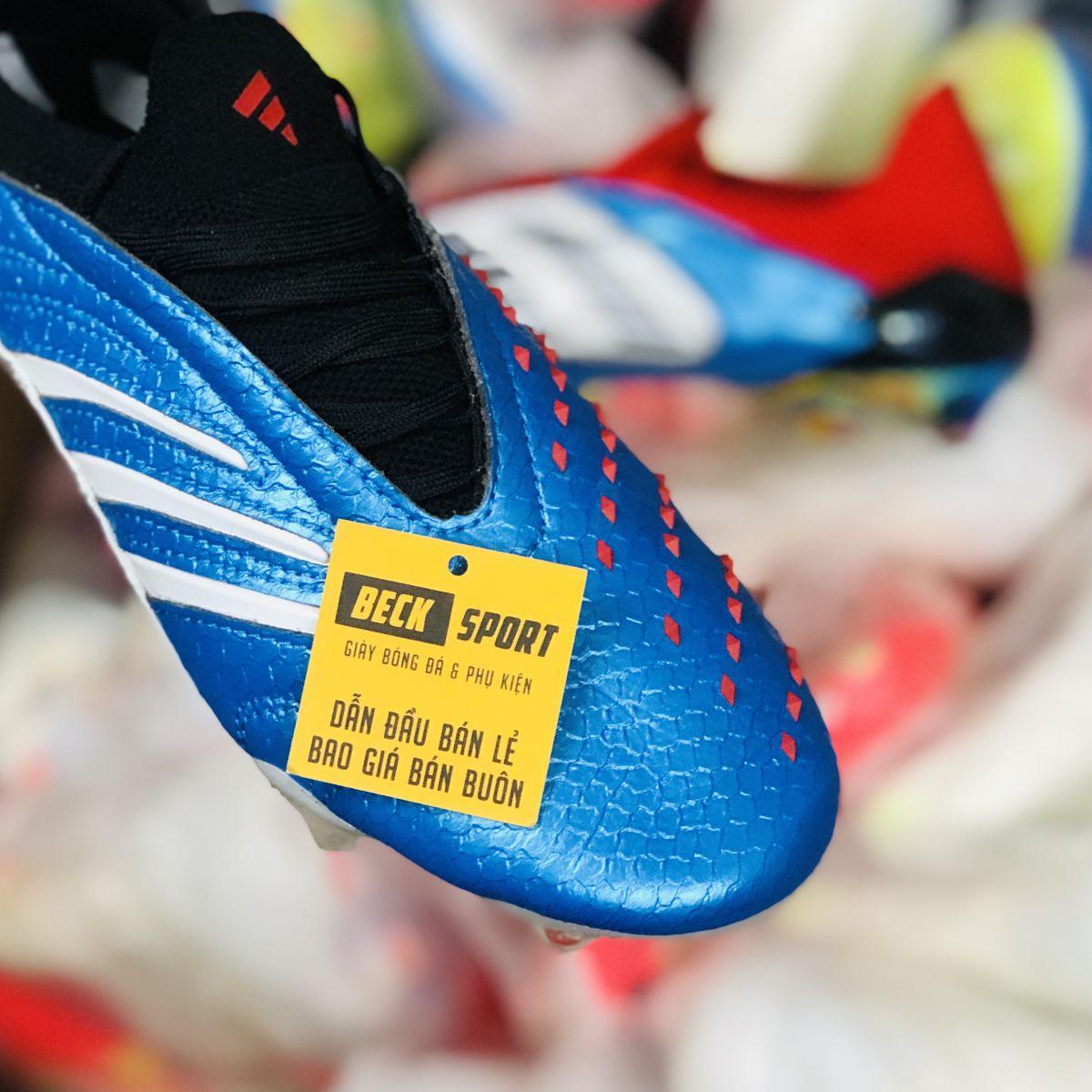 Giày Bóng Đá Adidas Predator 20 Archive Xanh Biển Limited Editon FG