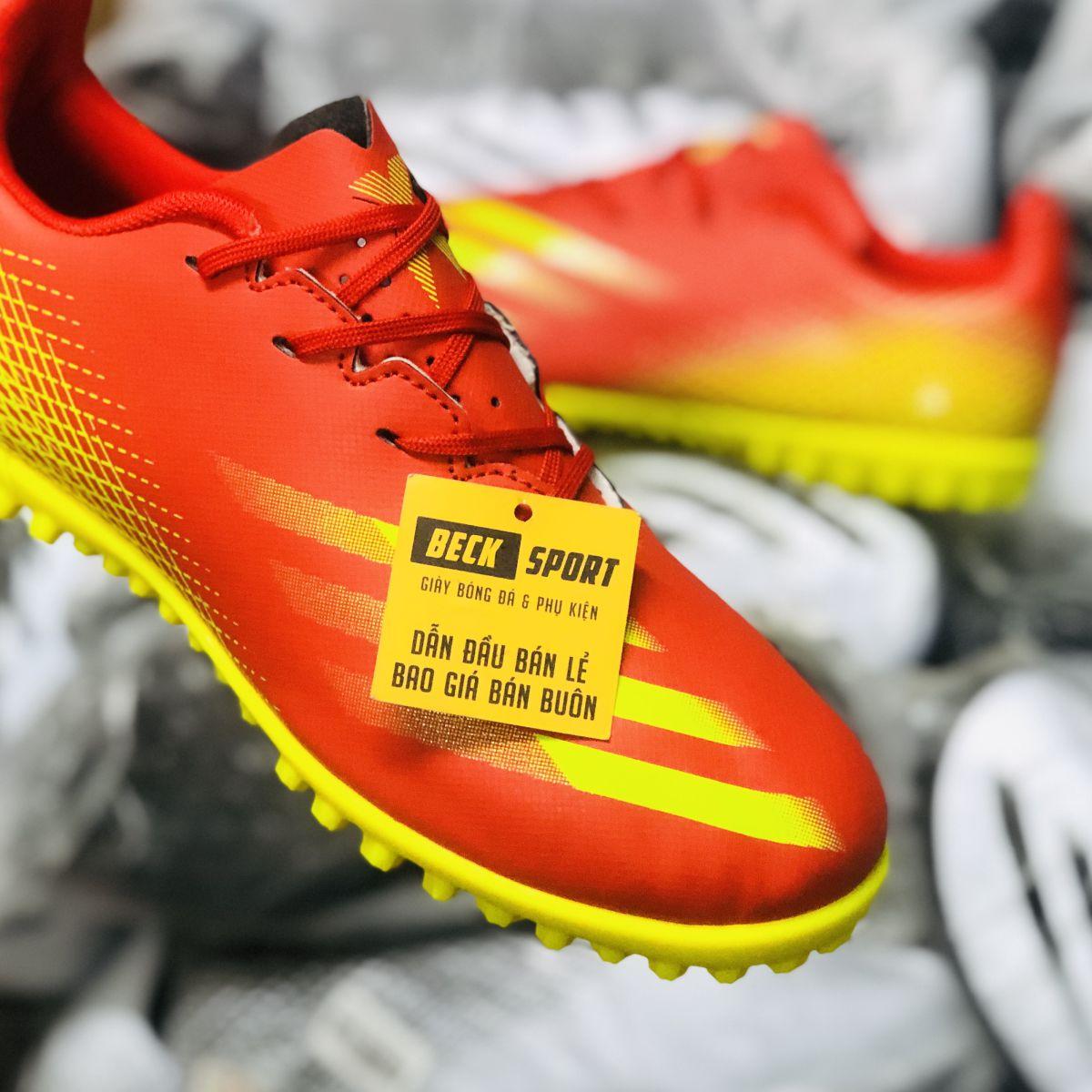 Giày Bóng Đá TQ Adidas X Ghosted.4 Đỏ Vạch Vàng TF