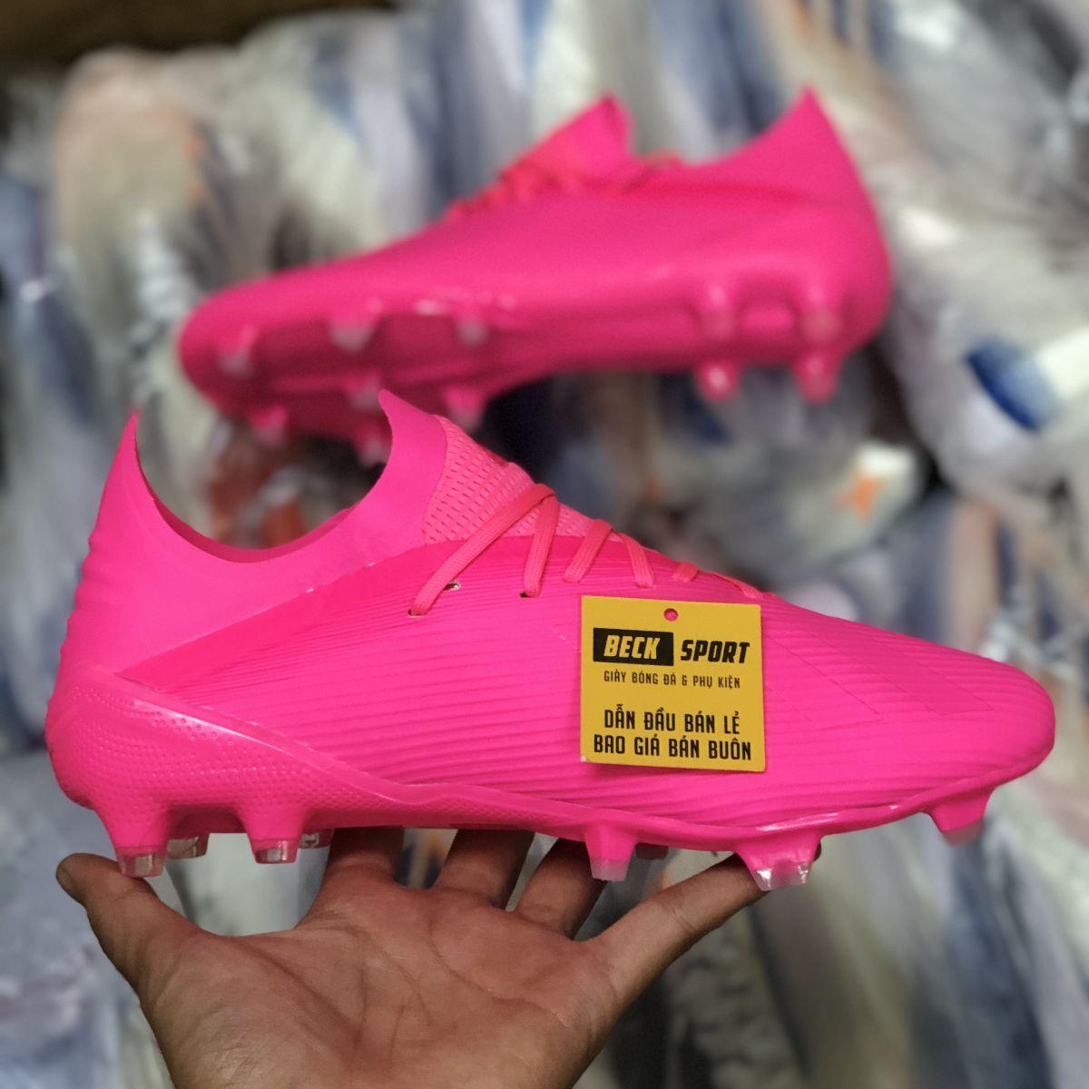 Giày Bóng Đá Adidas X 19.1 Locality Hồng FG