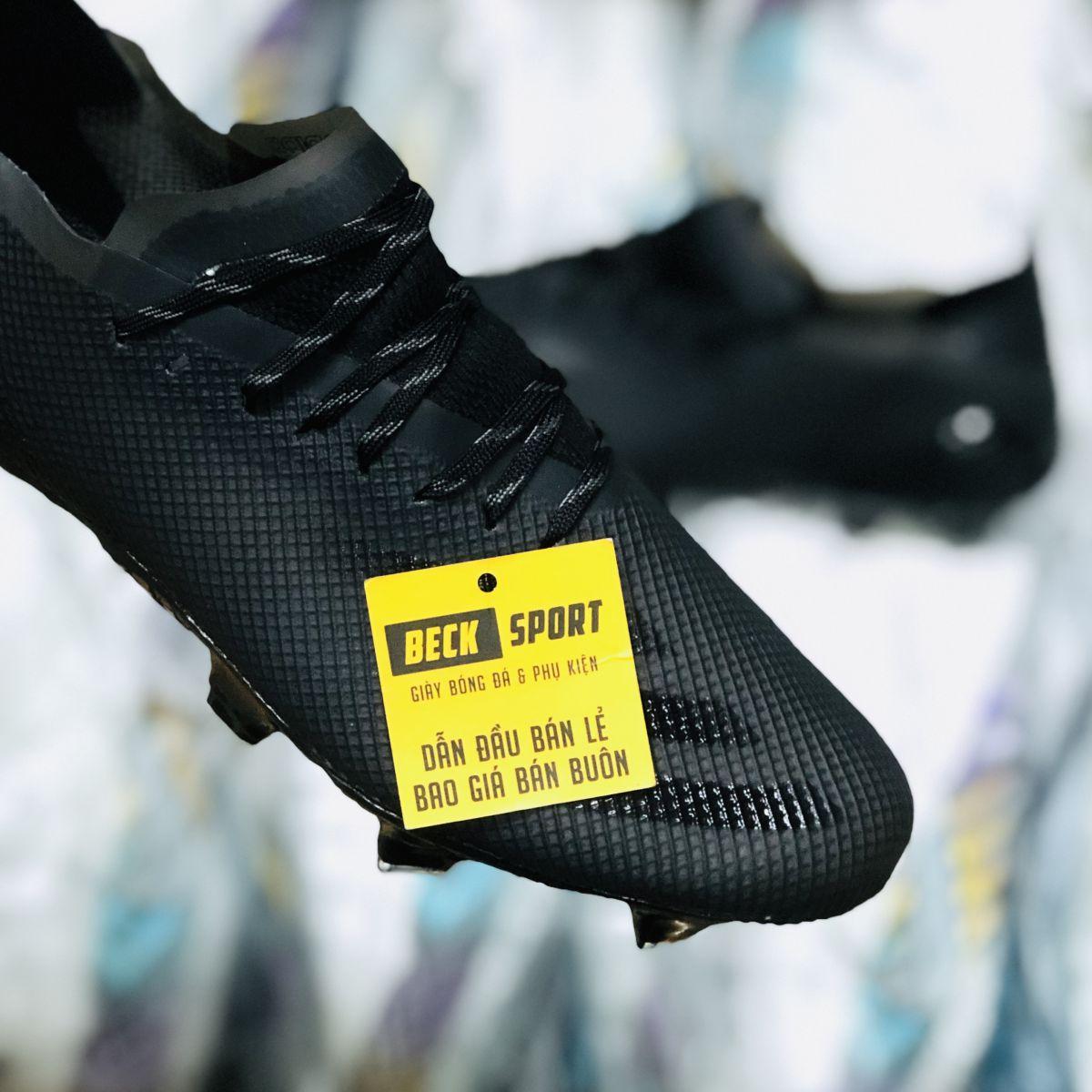 Giày Bóng Đá Adidas X Ghosted.1 Đen Tuyền FG