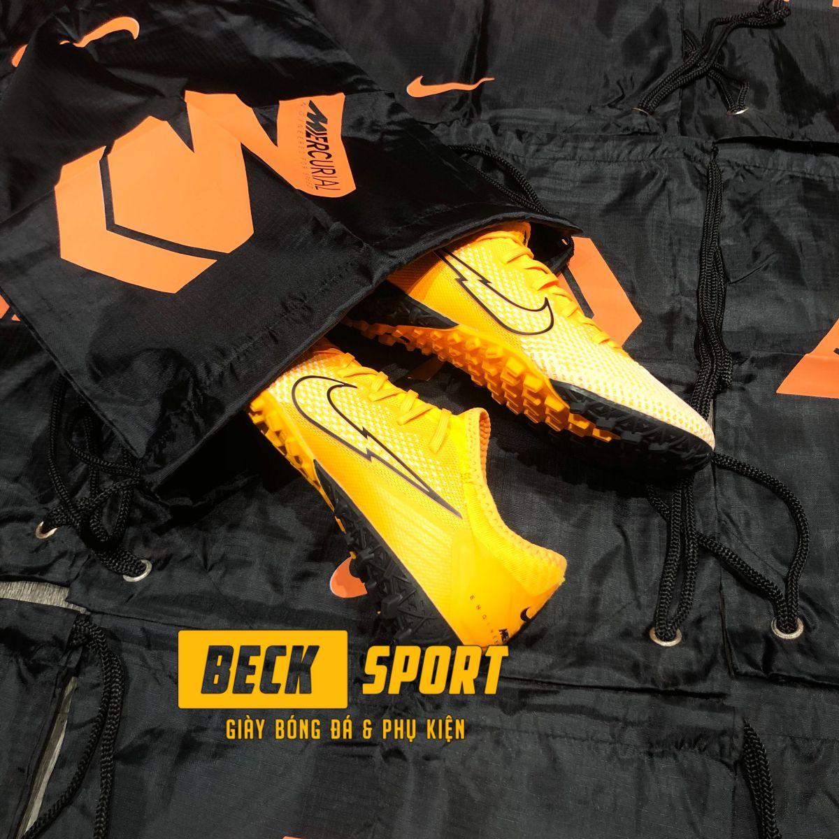 Túi Rút Gymsack SF Nike Mercurial 13 - Đen Cam