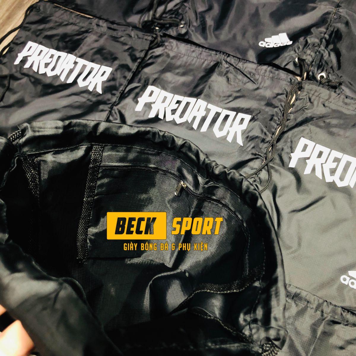 Túi Rút Gymsack SF Adidas Predator - Đen