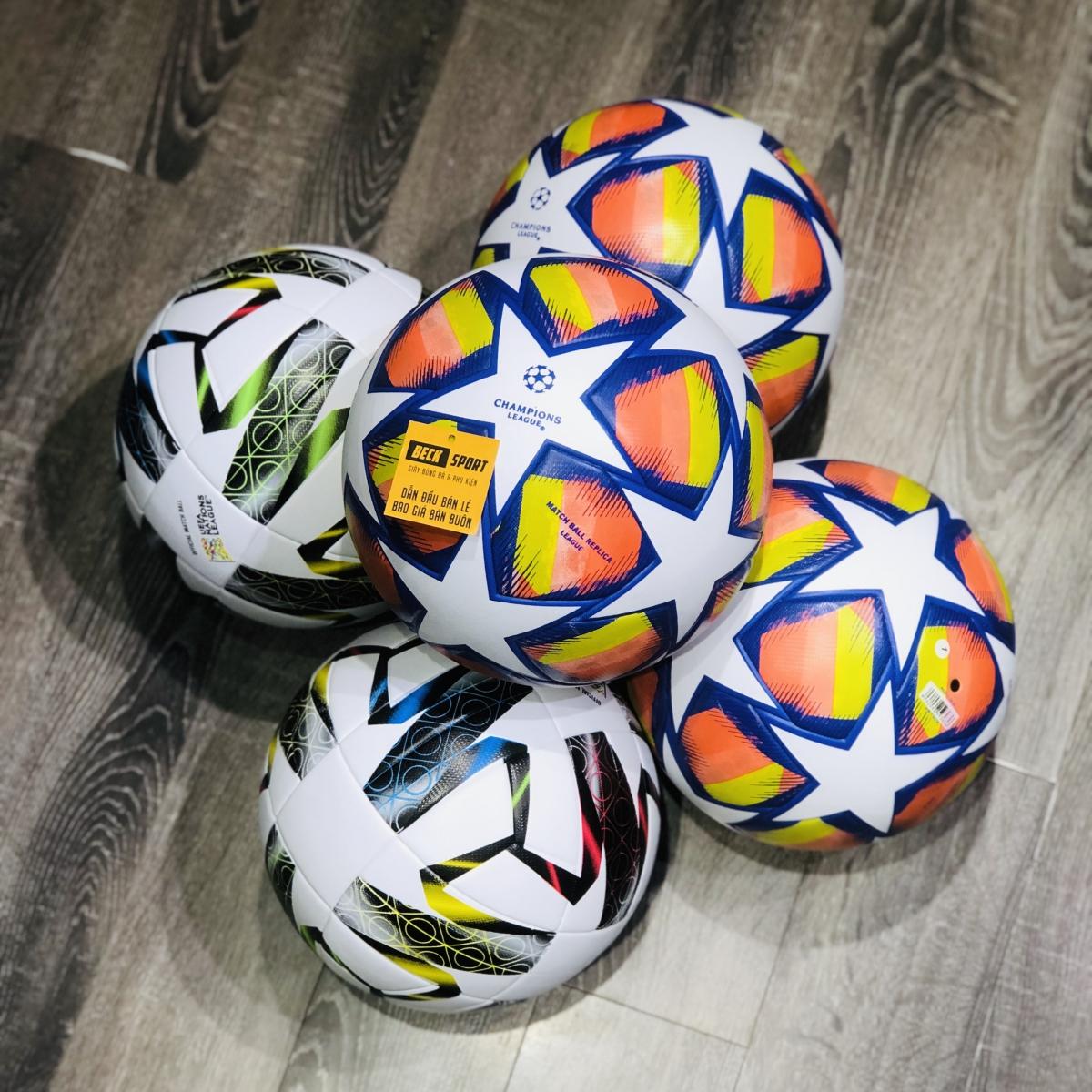 Quả Bóng Đá Adidas UEFA Nations League Trắng Đen - Size 5