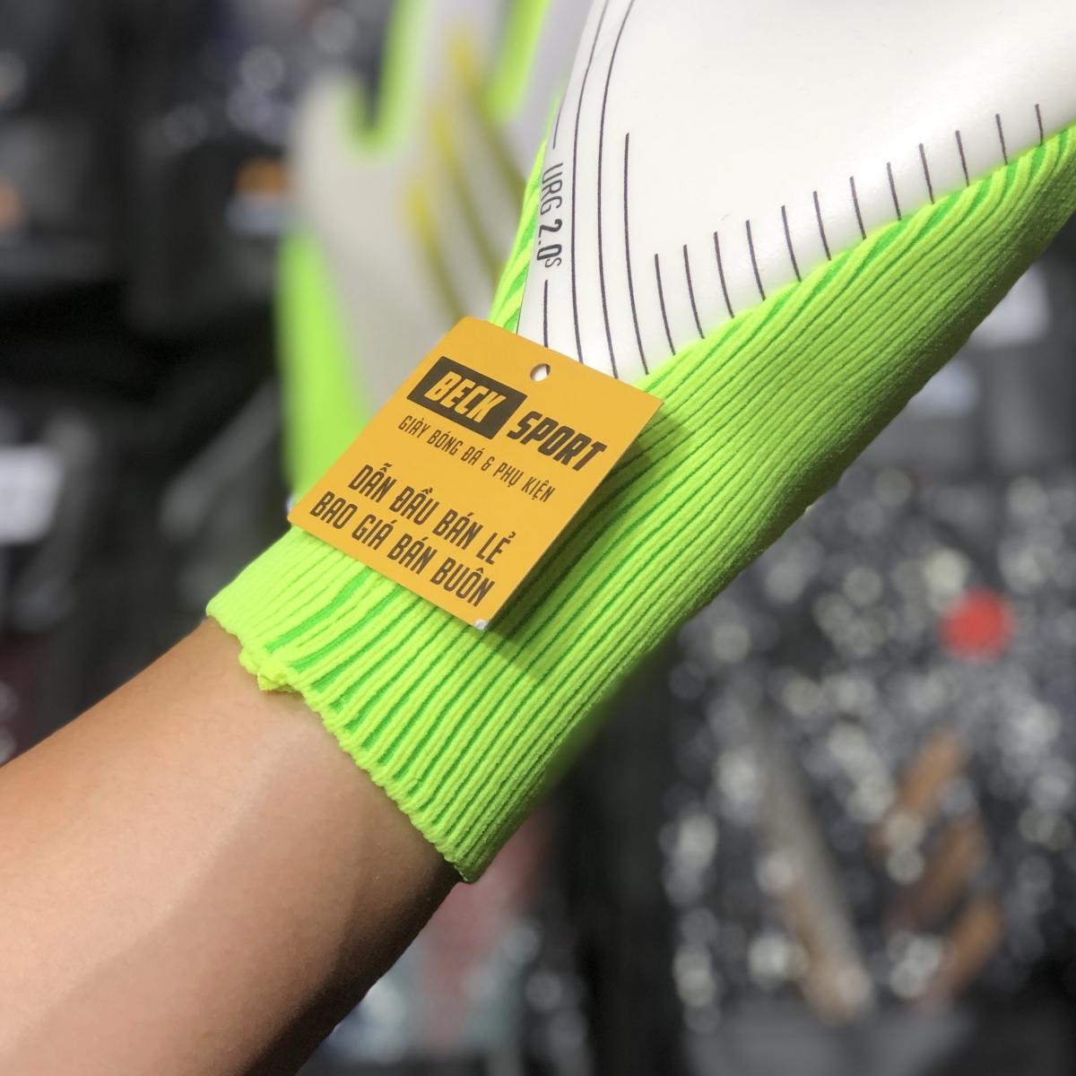 Găng Tay Adidas X Pro Trắng Vạch Nõn Chuối HQ (Không Xương)